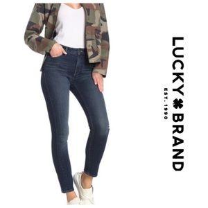 New! Lucky brand Hayden skinny rampart